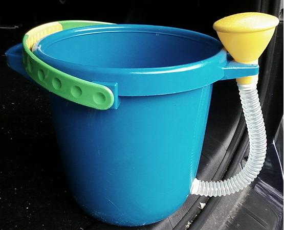 Coolest Bucket at the Kiddie Pool