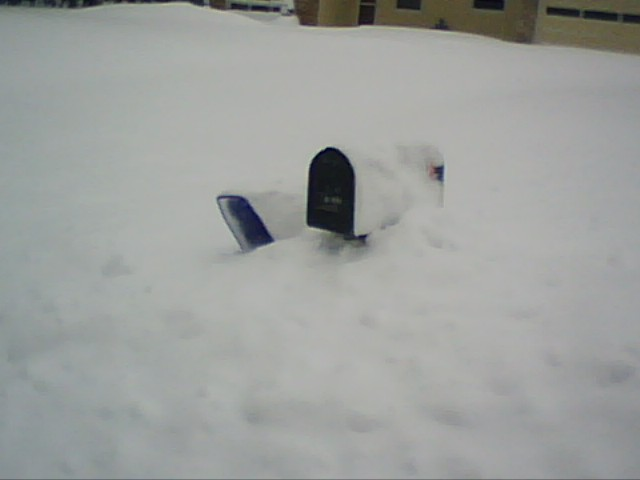 Mailbox in a Snow Drift