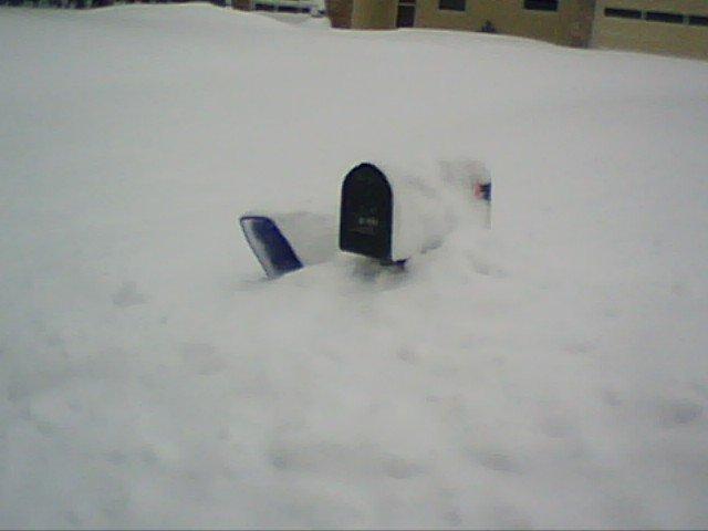 Mailbox in a Snow Drift