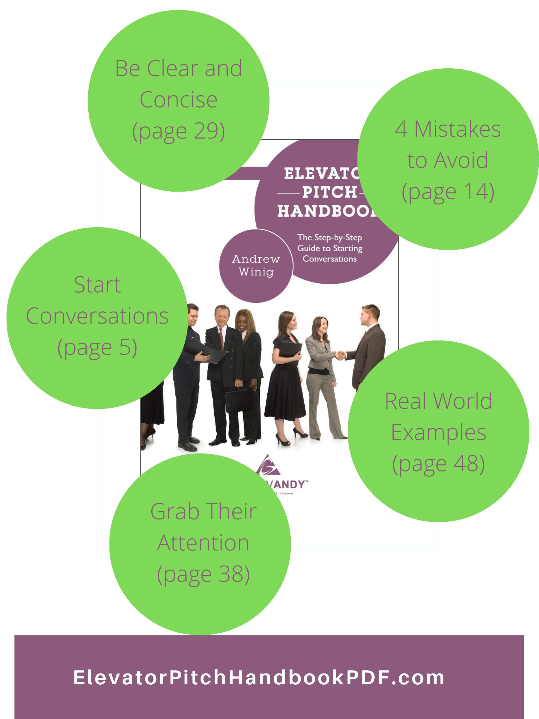 Elevator Pitch Handbook